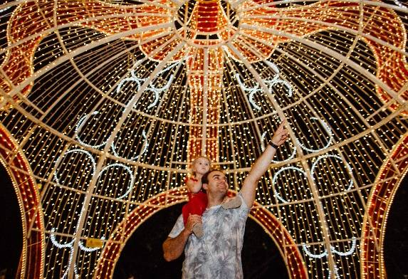 IT'S BACK: Hunter Valley Gardens' annual Christmas Lights Spectacular runs nightly until January 26 (excluding Christmas Day).