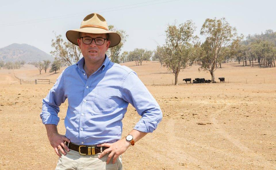 MEETING: NSW Agriculture Minister Adam Marshall called for the AgMin meeting to be held in Moree in northern NSW.