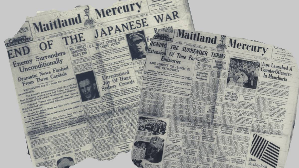 How a much-loved regional paper reported Japan's surrender
