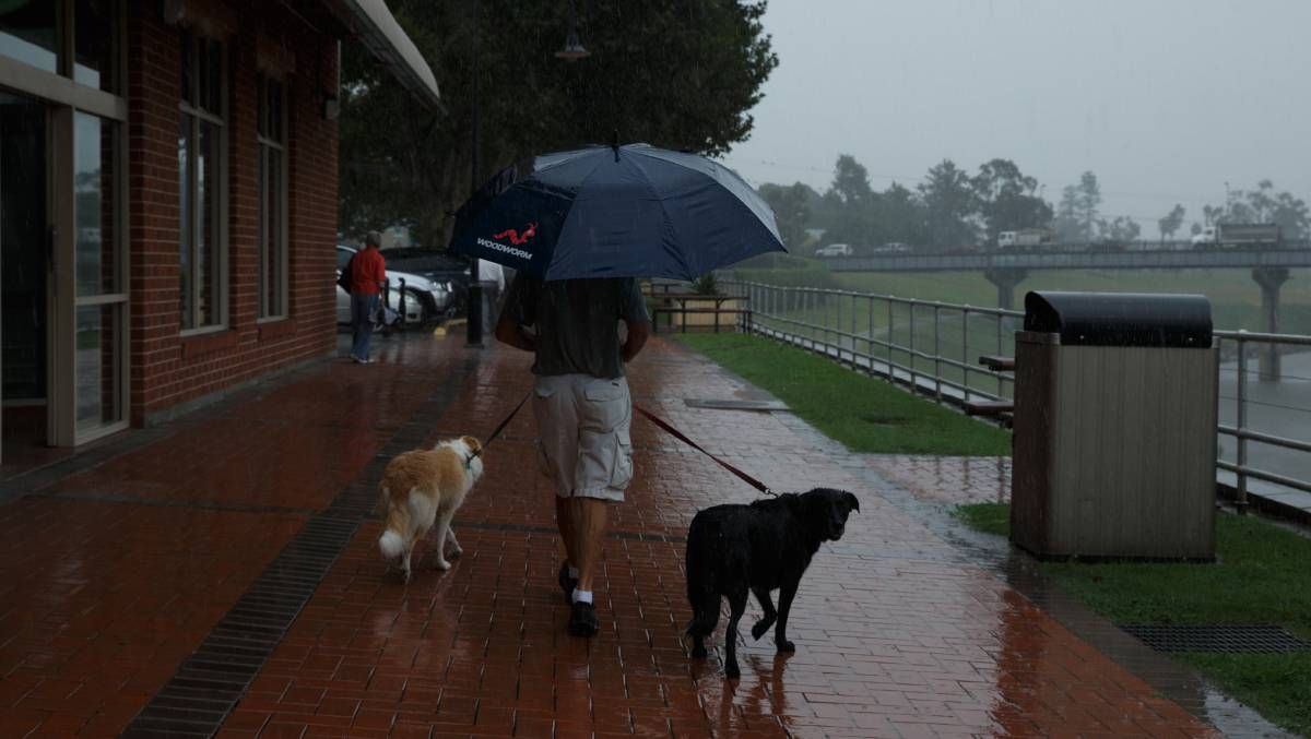 Rain recorded singleton