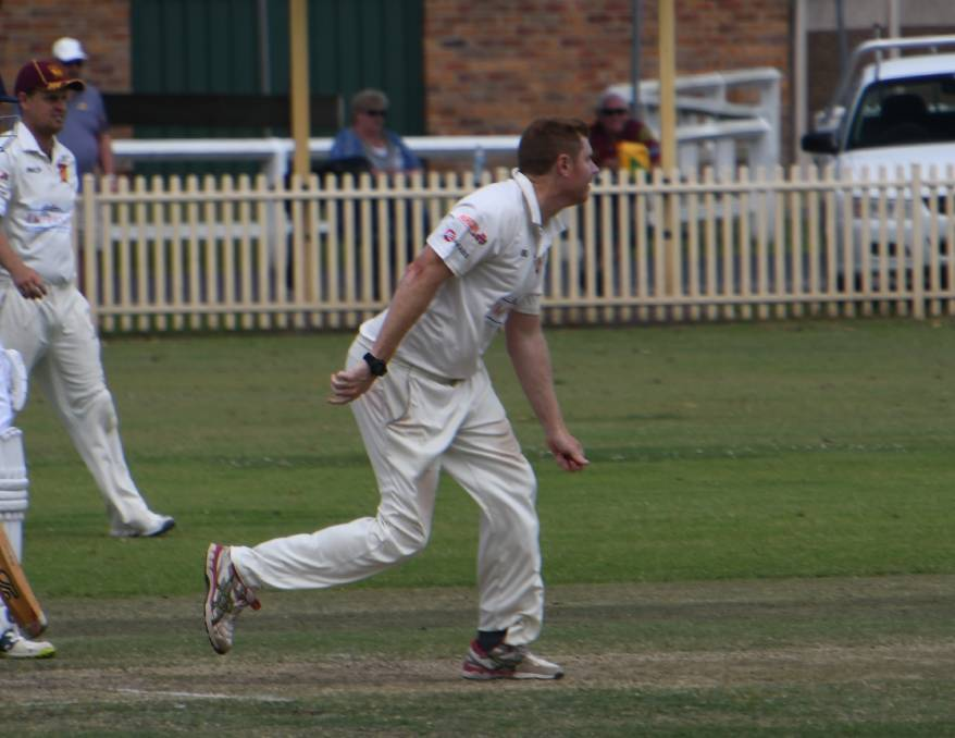 WICKETS: City all-rounder Nick Bower is one of the leading wicket-takers this season and has also made some valuable contributions with the bat.