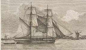 The Lady Nelson was designed specifically to explore and survey the east coast of New Holland.