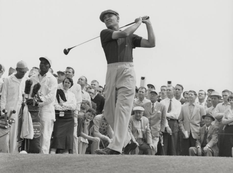 A CHAMPION: Ben Hogan who made a remarkable return from very serious injuries sustained in a car crash.