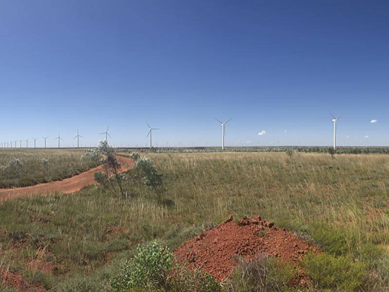 More than 1700 wind turbines will be located 26 km from WA's Eighty Mile Beach.