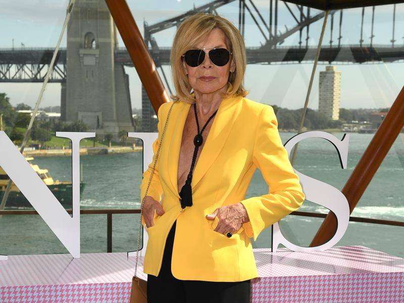 Designer Carla Zampatti was considered a fashion luminary in the Australian industry.