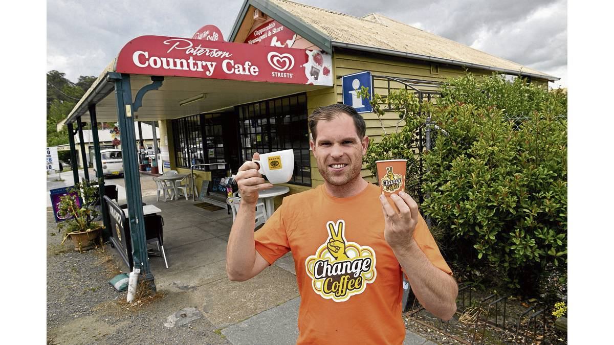 FUNDRAISER:  Paterson Country Cafe manager Brock Pierce.