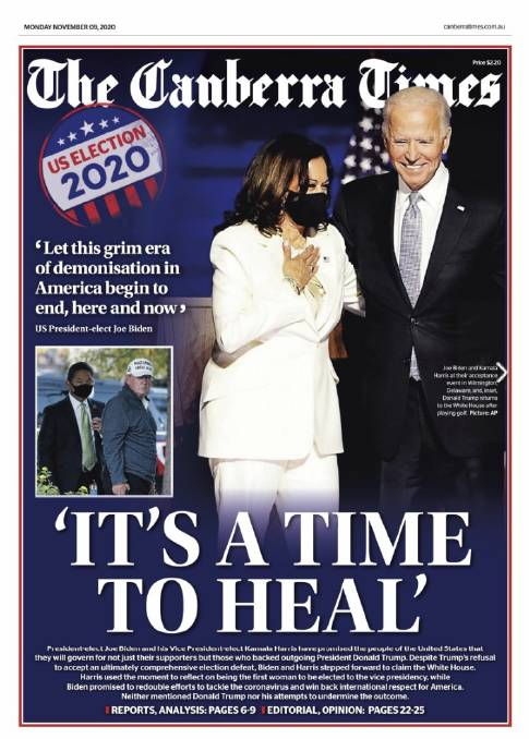 Senile one beats the lunatic': How newspapers around the world reported Joe  Biden's US election win | The Maitland Mercury | Maitland, NSW